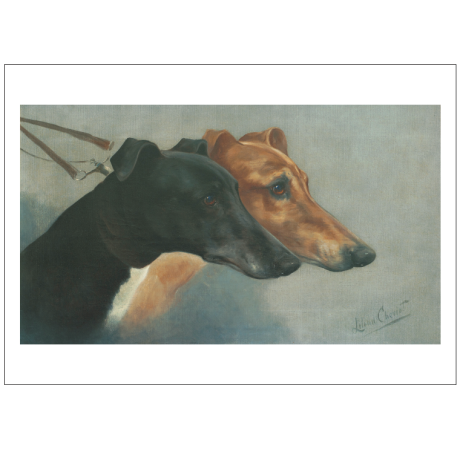 Pocztówka Sighthounds in Art No. 2